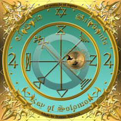 The 1st pentacle of Jupiter