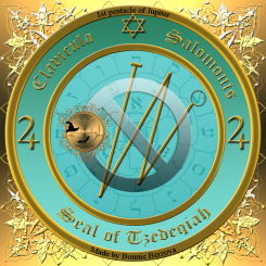 The seal of Tzedeqiah