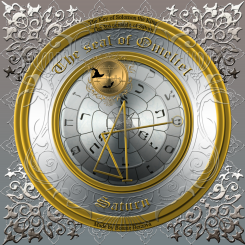 The seal of Omeliel/3rd pentacle of Saturn