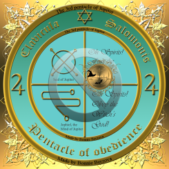The 3rd pentacle of Jupiter