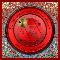 3rd pentacle of mars