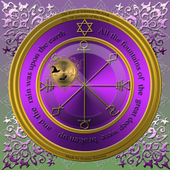 The 6th pentacle of the moon