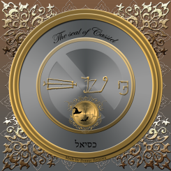 The seal of Cassiel (Saturn)