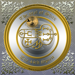 The seal of Shax