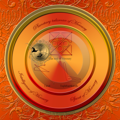 The planetary talisman of Mercury
